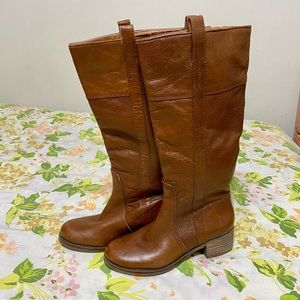 Arturo Chiang Hollie Tall Brown Boots